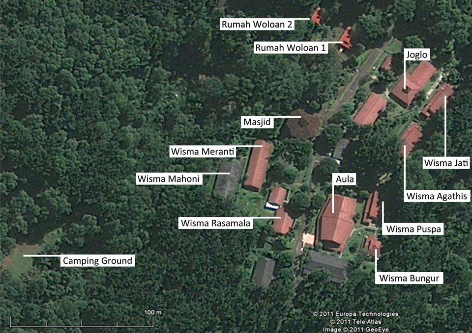 Facilities basecamp map