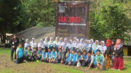 Advanced Training leadership (LLK) of SMP Islam Al Azhar Kelapa Gading Jakarta student board, 2017