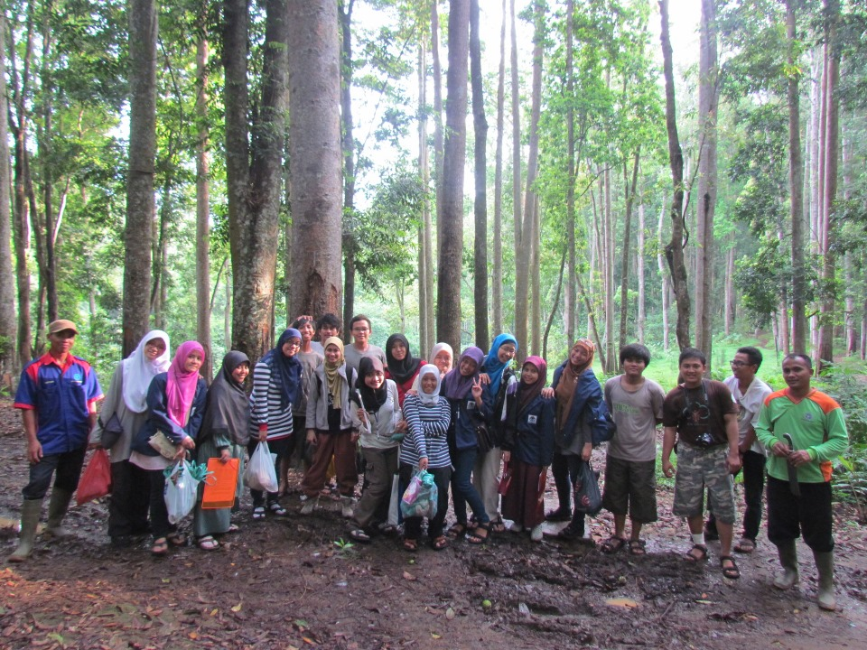 Fieldtrip of Biology Student of UIN Syarif Hidayatullah Jakarta