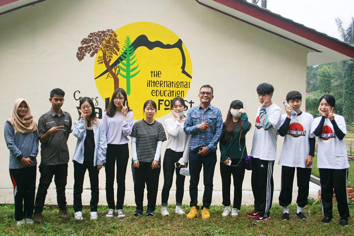 Fieldtrip of Students of Kyungpook National University, Korea
