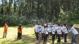 "Outbound activities of ""Trust Network and Team"" of staff of PT. Widatra Bhakti Jakarta"