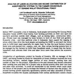 1993_analysis of labor allocation