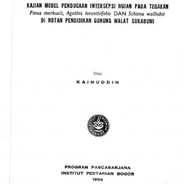 1994_kajian model pendugaan intersepsi hujan