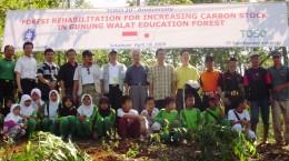TOSO Industry Indonesia hutan pendidikan gunung walat