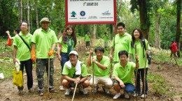 NYK Group Japan hutan pendidikan gunung walat