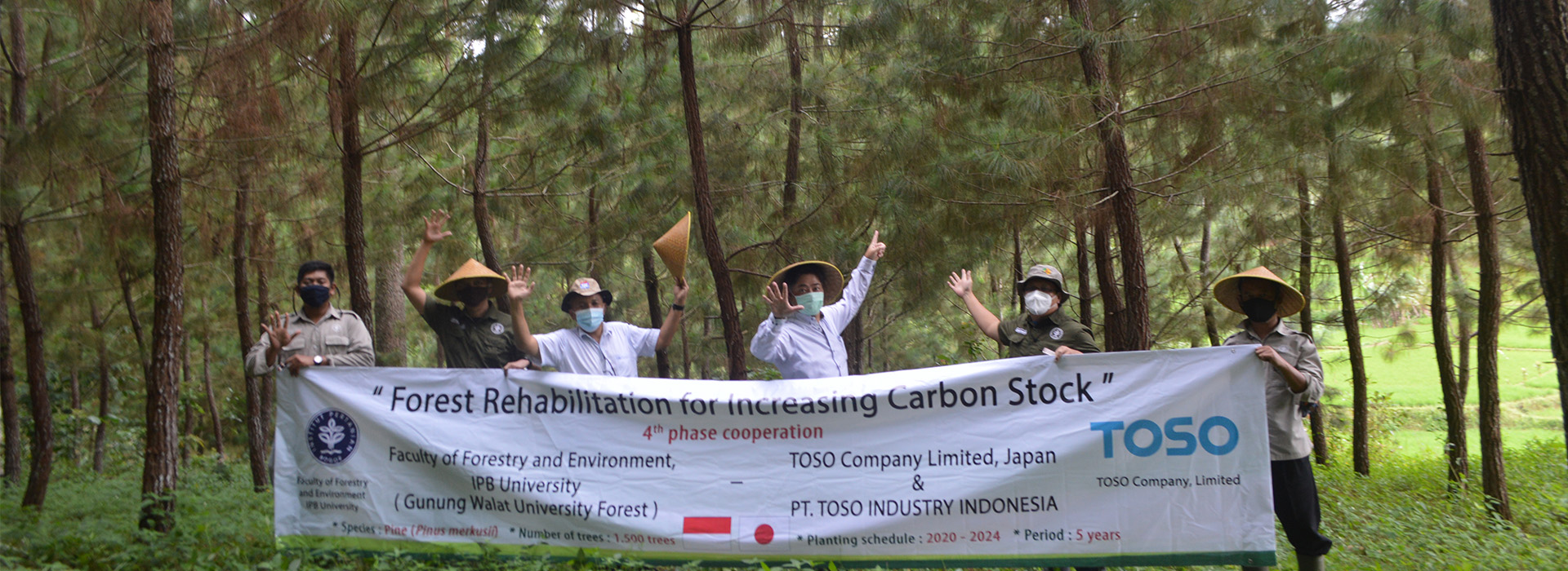 voluntary carbon trading toso company japan dan toso industry indonesia