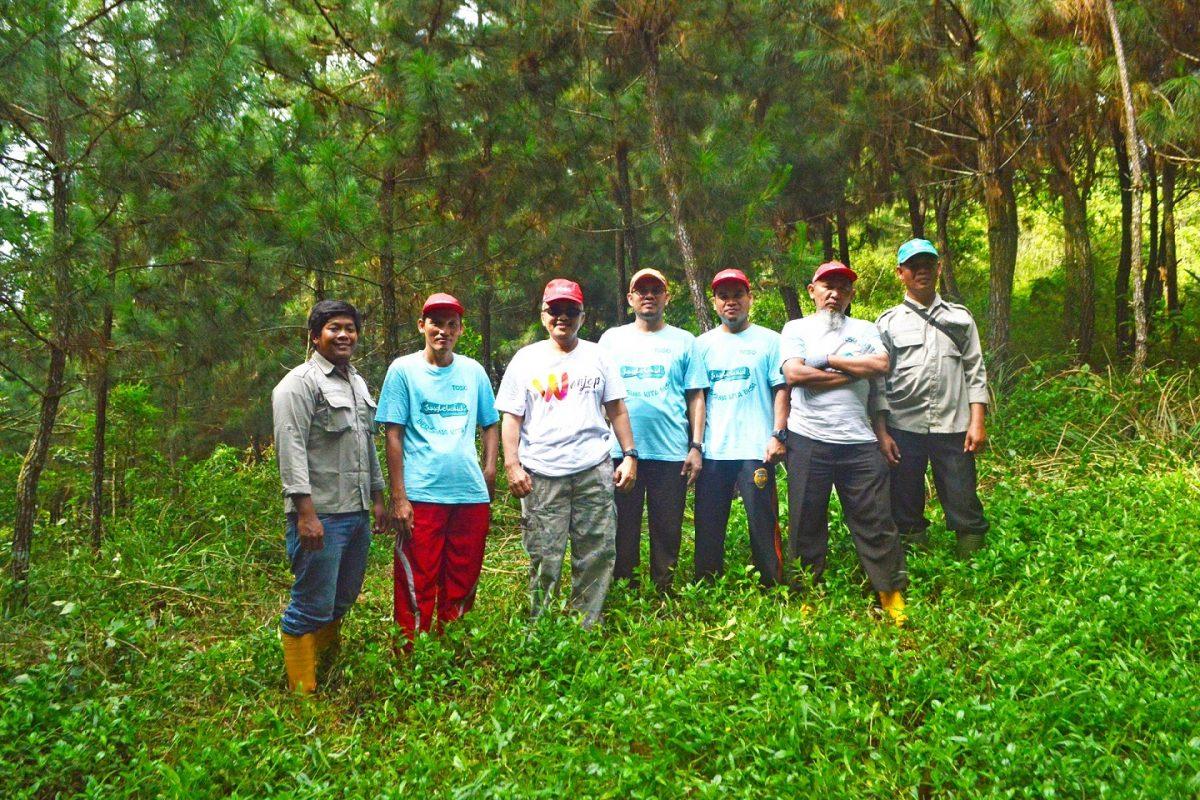 Peninjauan tanaman kerjasama oleh PT. TOSO Industry Indonesia tahun 2018