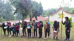 Pelatihan Navigasi Darat dan SAR oleh Azimuth Departemen Ilmu Tanah Fakultas Pertanian IPB