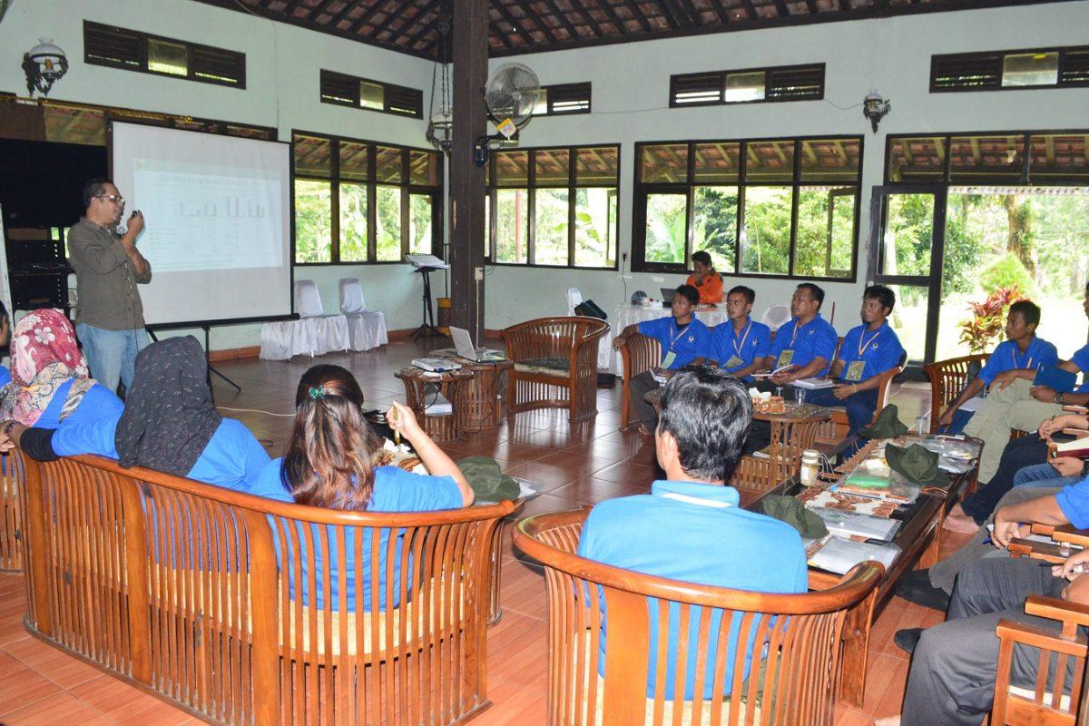 Praktik proses produksi getah oleh Balai Pengelola Hutan Produksi (BPHP) Wilayah VI Bandar Lampung