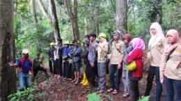 Studi Banding Mahasiswa Jurusan Kehutanan Fakultas Pertanian Universitas Lampung UNILA