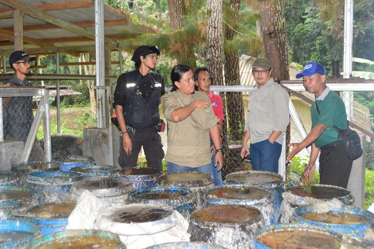 Studi Banding oleh Tim Manajemen Taman Buru Gunung Masigit Kareumbi Bandung