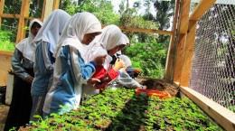 fieldtrip pelajar hutan pendidikan gunung walat