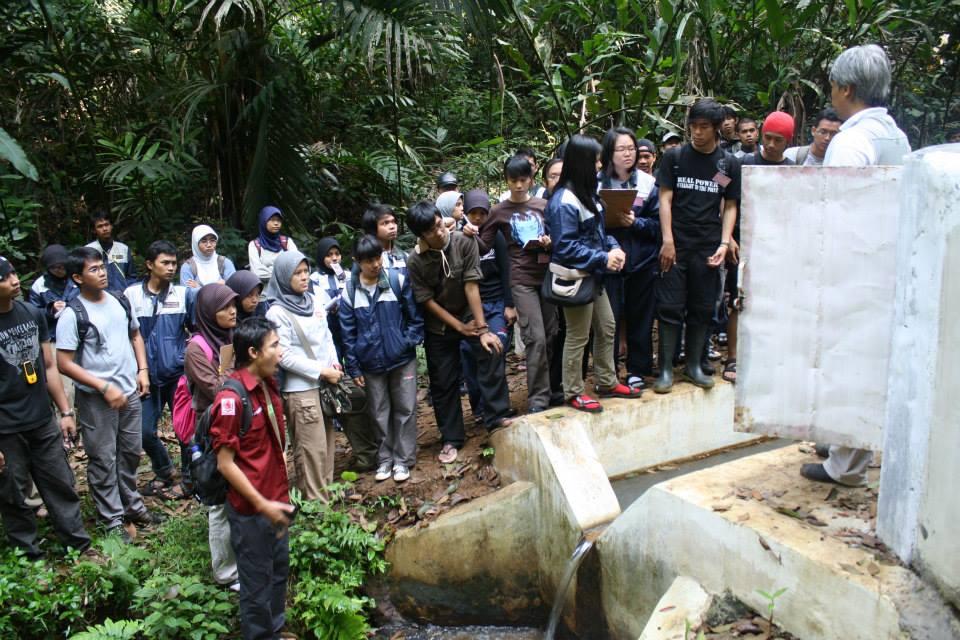 P2H 2009 hutan pendidikan gunung walat
