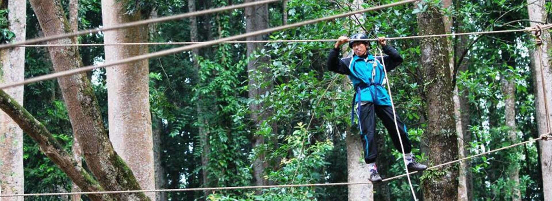 outbond hutan pendidikan gunung walat