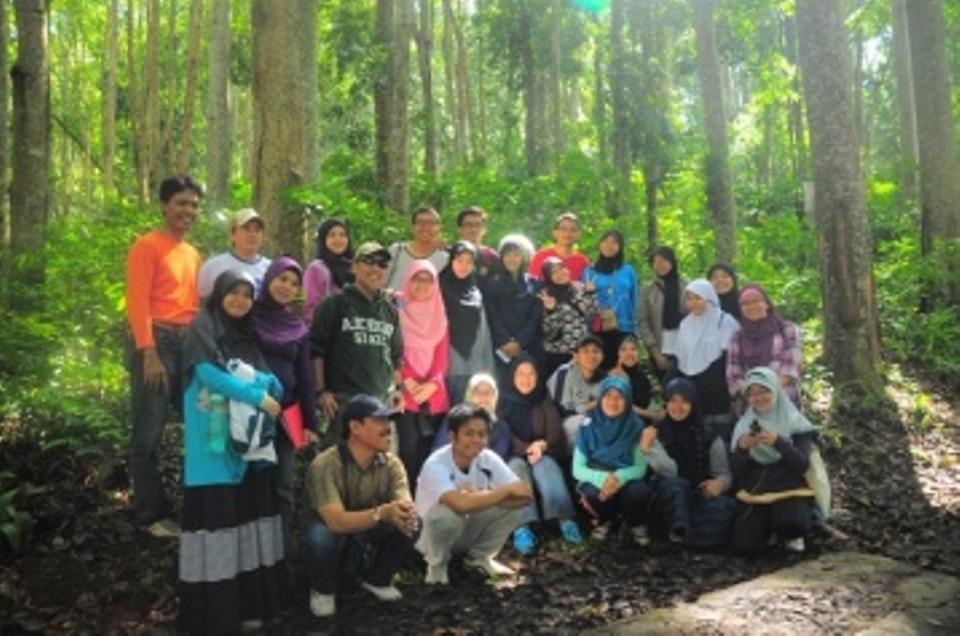 Fieldtrip-Lansekap-Faperta-IPB hutan pendidikan gunung walat