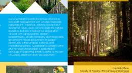 Leaflet GWUF Gunung Walat University Forest