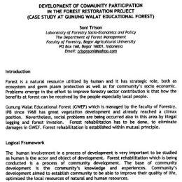 1998_development of community