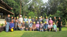 Excursion to Gunung Walat University Forest, Visit to voluntary carbon Projects oleh peserta REDD+ Denmark & Vietnam