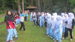 Latihan Dasar Kepemimpinan Siswa (LDKS) MTs Negeri 3 Sukabumi