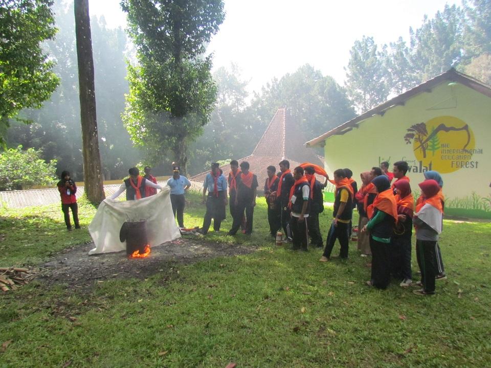Pelatihan Team Tanggap Darurat (Tetada) Mahasiswa IPB Angk. I oleh Direktorat Kemahasiswaan IPB