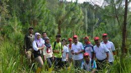 Peninjauan tanaman kerjasama oleh PT TOSO Industry Indonesia tahun 2014