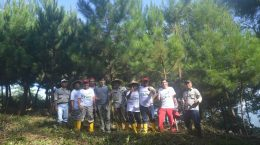 Peninjauan tanaman kerjasama oleh PT. TOSO Industry Indonesia tahun 2016