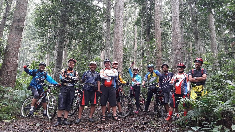 Sepeda gunung BTC Kampus IPB dan Pedalss Jakarta new