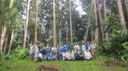 Overseas Study Tour for Japanese Forestry High School Students