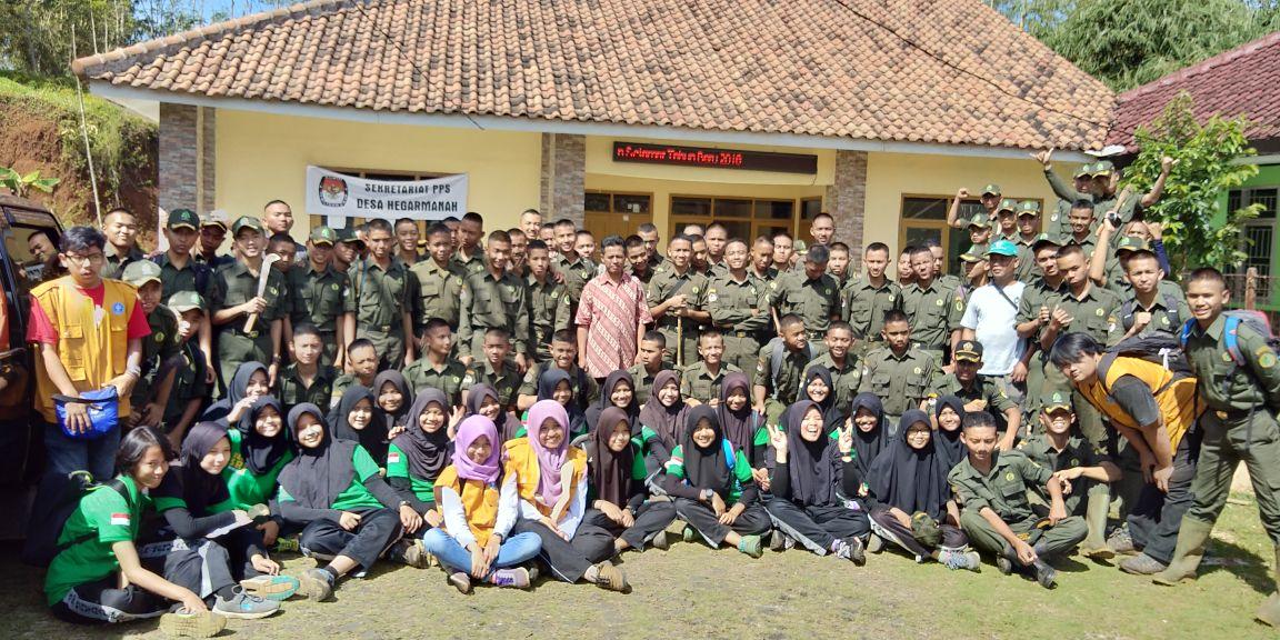 Bhakti Rimbawan SMK Kehutanan Pekanbaru dan SMK Kehutanan Kadipaten tahun 2018