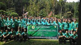 Praktik Kerja Kompetensi Geomatika SMK Adi Sanggoro Bogor tahun 2018