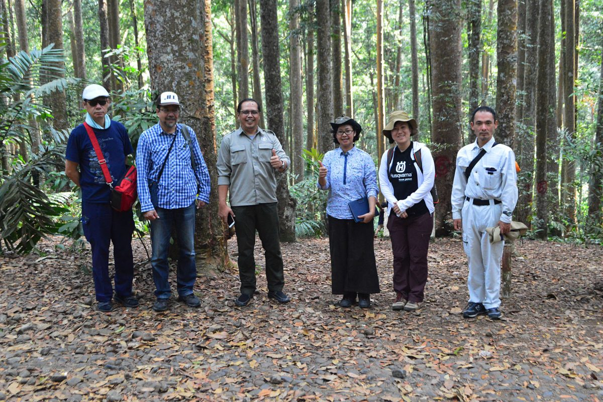 Kunjungan peneliti dari The University of Tokyo dan Ehime University Japan