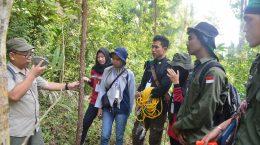 Praktik Tata Kelola Hutan (PTKH) Jurusan Kehutanan Fakultas Pertanian Universitas Riau tahun 2019